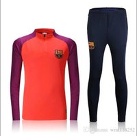 barcelona soccer clothes - Jacket Light Blue Red Barcelona clothes out tracksuit coat N98 Football Shirt Training Suit Jacket Jersey