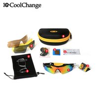 Wholesale Hot Sold Coolchange Bicycle Glasses Sunglasses Ballistic Goggles High Quality Groups of Lenses