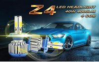 Wholesale 2016 Newest x40W Car LED Lamp LM Auto H4 H7 H8 H9 H11 cree Headlight bulbs kits Headlight