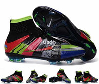 Wholesale 2016 Mercurial Superfly What the Mercurial Soccer Shoes Football Shoes Mens Soccer Cleats Boots Cheap Original Quality Football Shoes