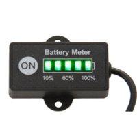 battery mowers - Battery Fuel Gauge Battery Meter V V Lead Acid Battery Tester for car motorcycle e bike lawn mower ATV UTV