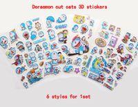 Cheap 3D Sticker Doraemon Waterpoo 3D Stickers Best Plastic Cartoon Dora A dream cute hot Home Decals