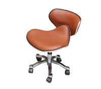 Wholesale PU Leather Stainless Steel Base Pedi Stool technician Chair to Match with the Pedicure Spa Chairs Nail beauty Salon Furniture