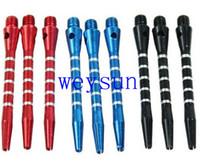 Wholesale Darts Shafts Colourful Aluminum Medium Harrows Throwing Toy New Needle Darts Shafts