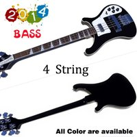 bass guitar models - Top quality Rick model Ricken strings Electric Bass guitar Black color All Color are available