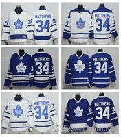 Wholesale 2016 Draft Matthews Men s Toronto Maple Leafs Auston Matthews Hockey jersey High Quality Stitched Mix order