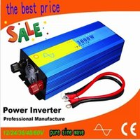 Wholesale CE ROHS SGS Approved inverter w pure sine wave solar power good quality fast delivery W inversor de onda senoidal