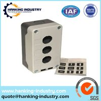 aluminum casting equipment - Good insulation PET plastic injection molded products electronic equipment spare parts