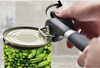aluminum bottle cutter - Safety Can Opener PowerLix Heavy Duty Safe Manul Can Tin Opener Smooth Side Edge Side Cutter No Sharp
