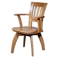 antique office chairs - 100 Solid Wood Computer Chair Swivel Office Chair Antique Oak Study Chair Study Furnitur