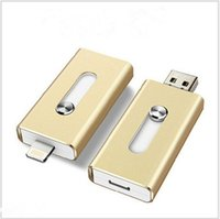 Wholesale multi function USD flash drive U disk use for iPhone and computer from china