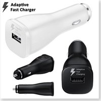 Wholesale DHL Original Adaptive Fast Charging V A USB Car Charger For Samsung Galaxy Note S6 S7 Edge