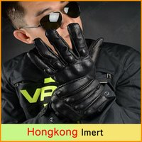 Wholesale Free Moto Racing Gloves Leather motorcycle gloves cycling gloves Perforated Leather Motorcycle Gloves black color M L XL size