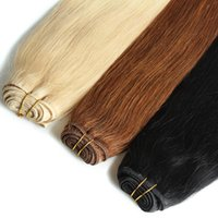 Wholesale Packing Human Hair Extensions Within Different Human Hair Color Permium Straight Human Hair G Each Packga
