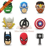 animal hulk - Iron Man Captain America Thor Hulk The Avengers Badges Pin Button Brooches Cartoon Badge for Kids Party Gift
