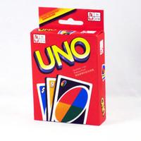 Precio de Los niños juegan-UNO Naipes Poker Juego de Mesa estándar familiar Edición Diversión entermainment Juego de mesa de los niños divertido juego de puzzle