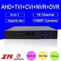 Wholesale Hisiclion Chip Blue Ray Metal Case Channels P N P P H Hybrid in TVi CVI NVR AHD DVR