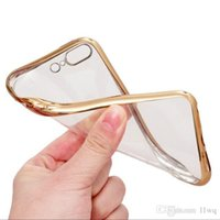 alibaba phones - For Apple iphone7 iphone plus Case Cover For iphone plus Phone Cases Transparent Chapeamento TPU Back Cover Alibaba Express