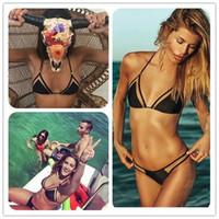 Wholesale Hot Sexy Summer Triangular Mesh Bikini Sexy Bikini Ladies Swimwears Hot Sell Swimwears Female Foreign Trade