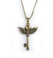 austria bronze - Fine jewelry explosion punk skull necklace spot plating plating silver bronze mosaic Austria