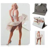 apple ipad shine - Univedrsal inch Shining Design Sexy Marilyn Monroe Pattern Apple iPad Protective Cases