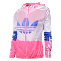 adidas tracksuit - New Hot Sale High Quality brand Adidas Spring Autumn Hoodie Jacket women Sportswear Clothes Windbreaker Coats sweatshirt tracksuit women s