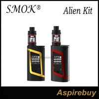 baby mode - SMOK Alien Kit Alien TC Box Mod with ML TFV8 Baby Tank TCR Mode Dual Battery Large Air Chamber with Four Alternate Coils Authentic