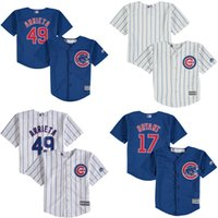 baseball jerseys toddlers - Toddler Chicago Cubs Jake Arrieta rizzo Kris Bryant Blue Cool Base Player Jersey