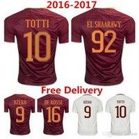 Wholesale Rome Jerseys Shirt PJANIC DZEKO TOTTI DE ROSSI home away Associazione Sportiva Roma Jersey Wholesalers
