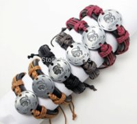 agate suppliers - unisex cuff high quality mixed packing bracelet leather jewelry corsica design wristband supplier wristband pocket jewelry dividers
