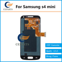 Wholesale For Samsung S4 LCD Display For Samsung Galaxy S4 mini i9190 i9195 i9192 i9198 LCD Screen With Touch Screen Digitizer