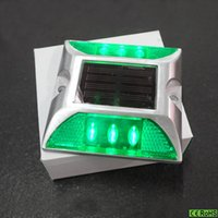 aluminum flashing colors - Factory direct sale high quality colors aluminum Non flash led solar lights outdoor waterproof solar pathway SRS