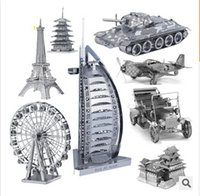 Wholesale New Stylish Top Quality Metallic Steel For Nano Intelligence D Educational Jigsaw Puzzle Model Toy Gift For Kid forge world