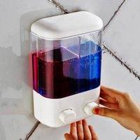 Wholesale Bathroom Wall Mounted Manual Soap Dispenser Liquid Foam Lotion Shampoo Shower Gel Bottle gifts