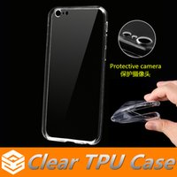 iphone 5 - Ultra Thin mm Clear Tpu Case For iphone s Plus SE Samsung S6 S7 Edge Note7 Soft Transparent Protective Camera Silicone back Cover
