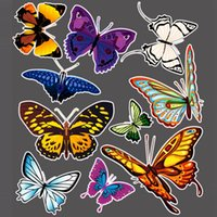beatles car stickers - Cool Auto Car Shelter Nick Stickers Butterfly Beatles Ladybug Cartoon Animal Garland Lovely Personality Decor Decal D Stickers