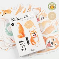Wholesale pack Oxygen Smile Shiba Greeting Card Postcard Birthday Gift Card Set Message Card