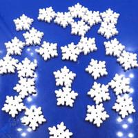 achat en gros de boutons de couture mignon-Bouton de décoration de noël Flocon de neige