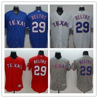 adrian gray - Adrian Beltre Texas Rangers Baseball Jerseys Flexbase Authentic jerseys Blue white gray red Summer Style Cool Base Shirt