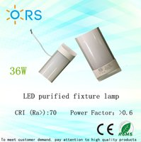 Wholesale LED tube light m purified ceiling lamp light fixture w LED batten ceiling light fixture