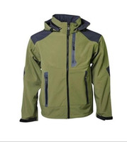 apex embroidery - HOT Mens Windstopper Waterproof Apex Bionic Fleece Softshell Jacket Brand New fashion outdoor coat Can Mix S XXL