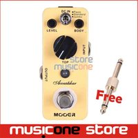 acoustic guitar works - Mooer Acoustikar Acoustic Simulator Guitar Effect Pedal Working Modes Piezo Standard Jumbo Full Metal Shell True Bypass