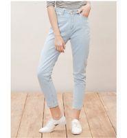 baggy boyfriend jeans - Trendy Women Casual Vintage Boyfriend High Waist AA Street Harem Pants Dark Light Blue Loose Female Denim Baggy Jeans Plus Size