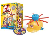 Wholesale Wet Head Game WET HEAD CHALLENGE Jokes Funny Toys Roulette Game Tricky Cap New Table Game New Amusement Toys Wet Head Challenge