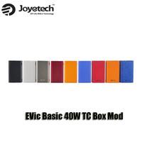 basic threads - 100 Original Joyetech EVic Basic W TC Box Mod VW mAh Battery For thread Atomizer Tank