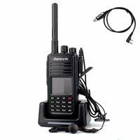amateur radio digital - Retevis DMR Digital Walkie Talkie RT3 UHF MHz W CH Digital Ham Amateur VOX Alarm Radio Comunicador A9110