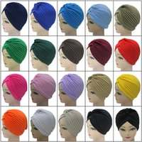 beach head scarf - Cap Indian Muslims Head Covering Hat Scarf Cap Bath Hat For Men And Women Hip Hop Performances Solid National Cap Can Be Printed Logo