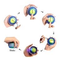Wholesale Gyro Massage Ball Wrist Arm Muscle Strengthening Trainer Massage Ball Exerciser WLQ
