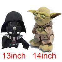 baby yoda - Movie Star Wars The Force Awakens Darth Vader Yoda Anakin Skywalker Soft Stuffed Plush Doll Toy Kids Baby Toy Children Gift