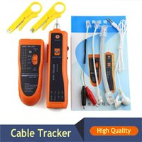 Wholesale RJ11 RJ45 Wire Tracker Tracer Ethernet LAN Network Cable Tester Diagnose Tone Networking Tool Line Finder
